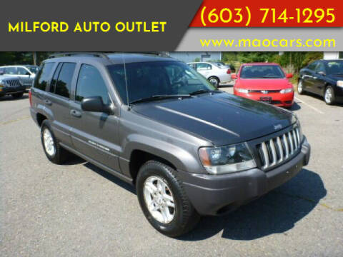 2004 Jeep Grand Cherokee for sale at Milford Auto Outlet in Milford NH