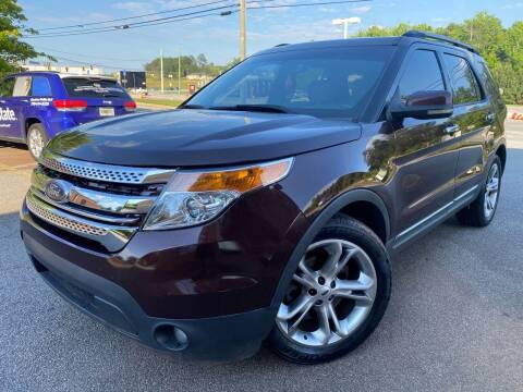 2012 Ford Explorer for sale at Gwinnett Luxury Motors in Buford GA
