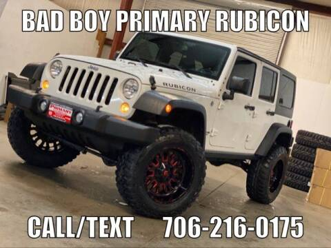 2014 Jeep Wrangler Unlimited for sale at Primary Auto Group Jeeps Hummers Tacomas in Dawsonville GA