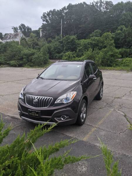 2014 Buick Encore for sale at WEB NIK Motors in Fitchburg MA