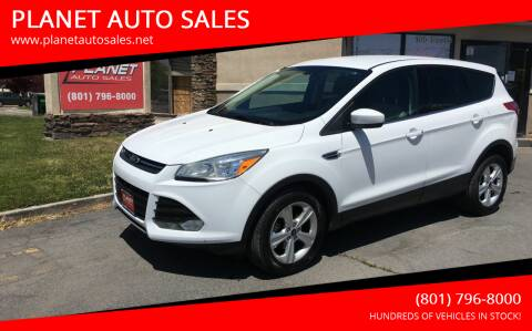 2015 Ford Escape for sale at PLANET AUTO SALES in Lindon UT