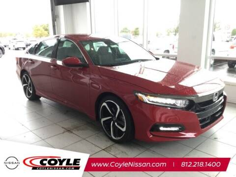 2019 Honda Accord for sale at COYLE GM - COYLE NISSAN - Coyle Nissan in Clarksville IN