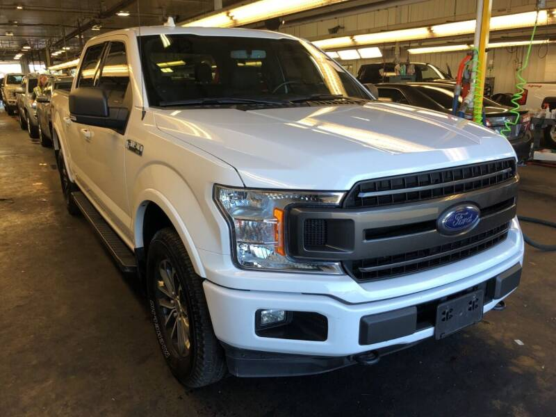 2018 Ford F-150 for sale at Paris Auto Sales & Service in Big Rapids MI