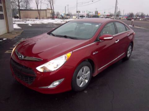 2012 Hyundai Sonata Hybrid for sale at Brian's Sales and Service in Rochester NY