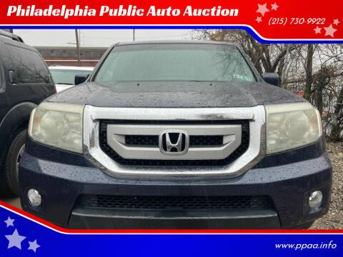2010 Honda Pilot for sale at Philadelphia Public Auto Auction in Philadelphia PA