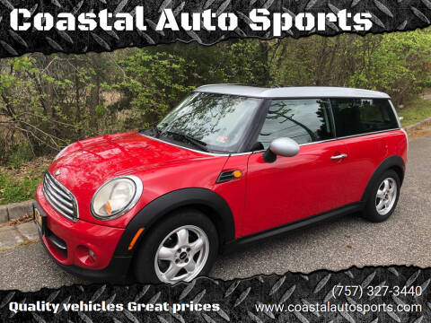 2011 MINI Cooper Clubman for sale at Coastal Auto Sports in Chesapeake VA