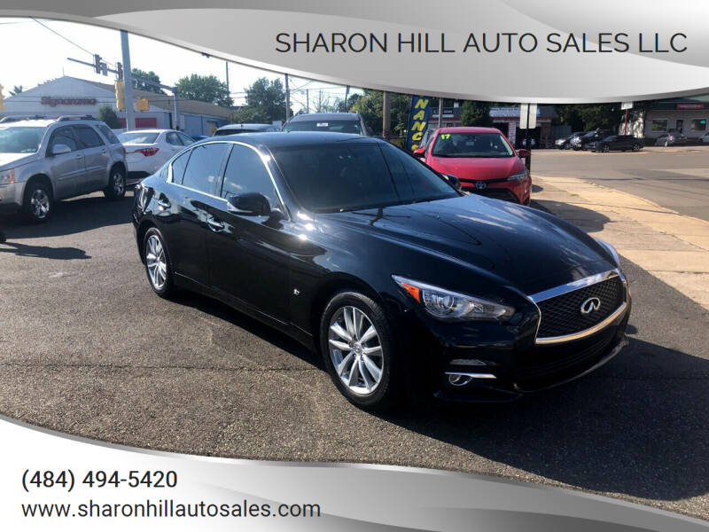 2015 Infiniti Q50 for sale at Sharon Hill Auto Sales LLC in Sharon Hill PA