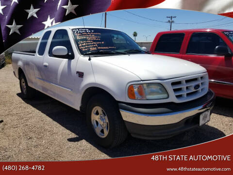 2002 Ford F-150 for sale at 48TH STATE AUTOMOTIVE in Mesa AZ