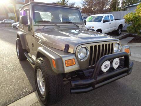 2005 Jeep Wrangler for sale at NorCal Auto Mart in Vacaville CA