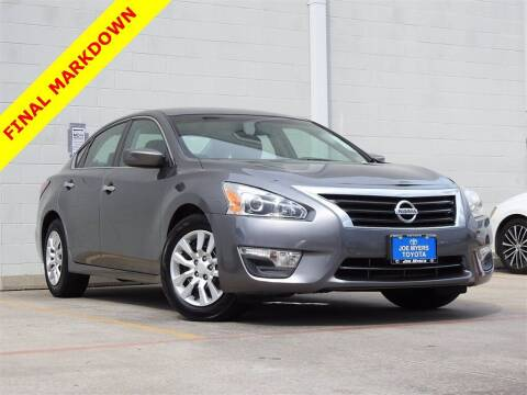 2014 Nissan Altima for sale at Joe Myers Toyota PreOwned in Houston TX