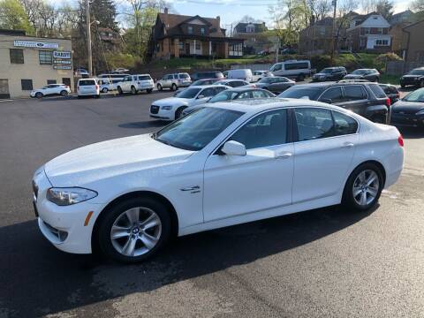 2012 BMW 5 Series for sale at Fellini Auto Sales & Service LLC in Pittsburgh PA