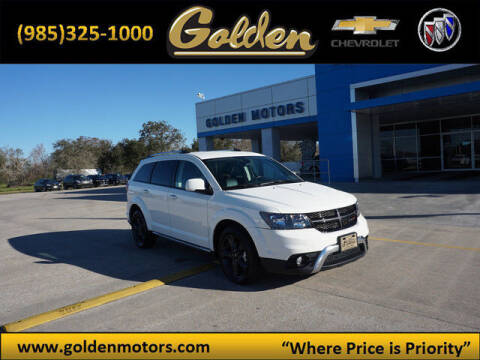 2019 Dodge Journey for sale at GOLDEN MOTORS in Cut Off LA