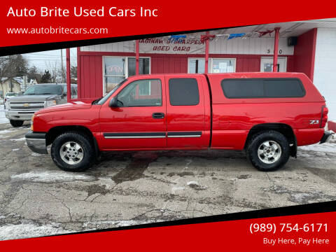 2003 Chevrolet Silverado 1500 for sale at Auto Brite Used Cars Inc in Saginaw MI