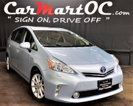 2012 Toyota Prius v for sale at CarMart OC in Costa Mesa CA