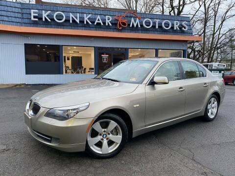 2008 BMW 5 Series for sale at Ekonkar Motors in Scotch Plains NJ