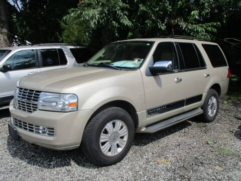 2008 Lincoln Navigator for sale at PENDLETON PIKE AUTO SALES in Ingalls IN