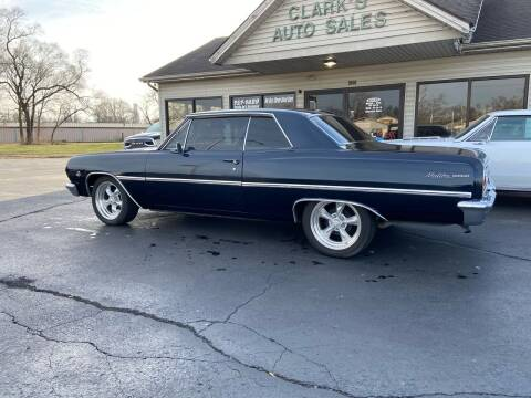 1965 Chevrolet Chevelle Malibu for sale at Clarks Auto Sales in Middletown OH