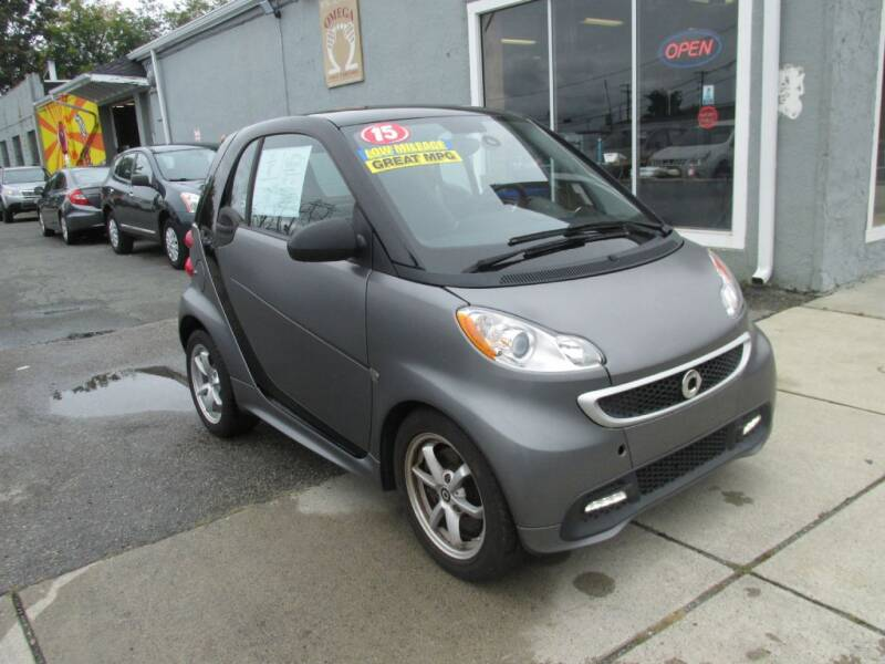 2015 Smart fortwo for sale at Omega Auto & Truck Center, Inc. in Salem MA