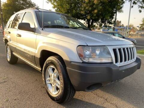 2004 Jeep Grand Cherokee for sale at My Car Plus Center Inc in Modesto CA