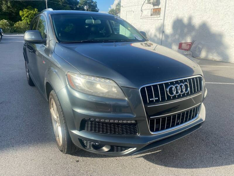 2013 Audi Q7 for sale at LUXURY AUTO MALL in Tampa FL