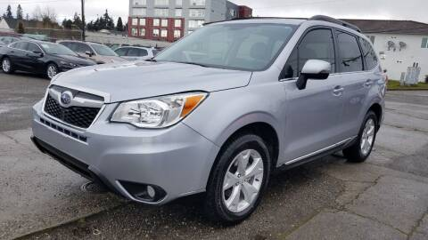 2015 Subaru Forester for sale at Seattle's Auto Deals in Seattle WA