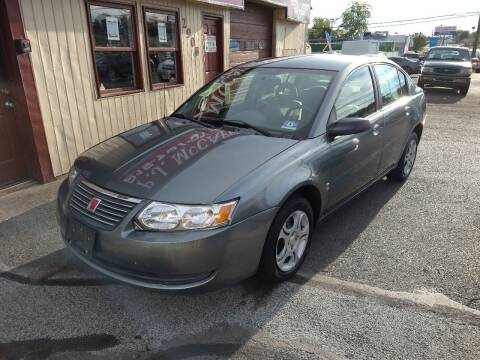 2005 Saturn Ion for sale at P J McCafferty Inc in Langhorne PA