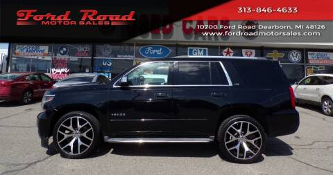 2015 Chevrolet Tahoe for sale at Ford Road Motor Sales in Dearborn MI