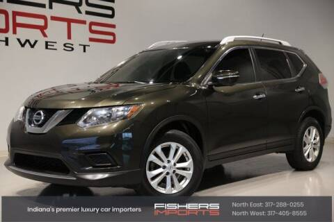2015 Nissan Rogue for sale at Fishers Imports in Fishers IN