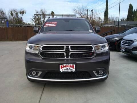 2017 Dodge Durango for sale at Empire Auto Sales in Modesto CA