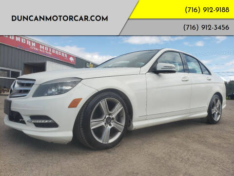 2011 Mercedes-Benz C-Class for sale at DuncanMotorcar.com in Buffalo NY