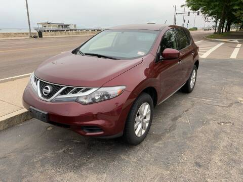 2012 Nissan Murano for sale at Quincy Shore Automotive in Quincy MA