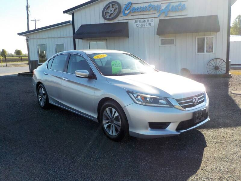 2013 Honda Accord for sale at Country Auto in Huntsville OH