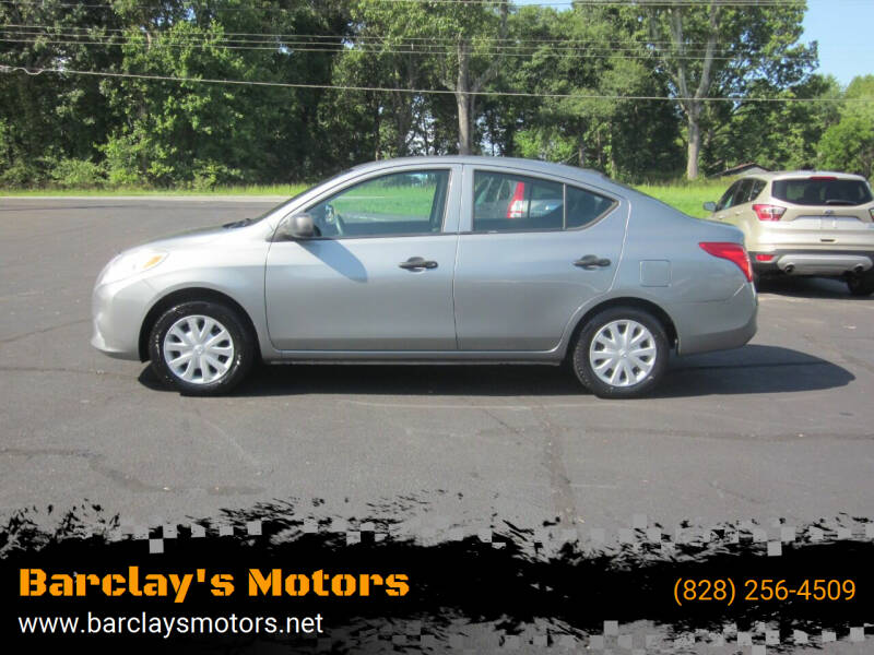 2014 Nissan Versa for sale at Barclay's Motors in Conover NC