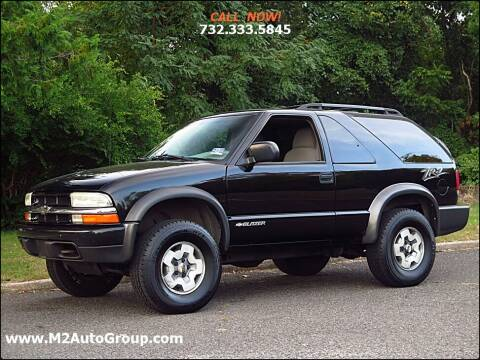 2004 Chevrolet Blazer for sale at M2 Auto Group Llc. EAST BRUNSWICK in East Brunswick NJ