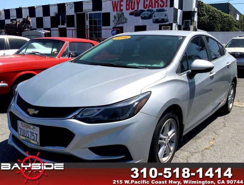 2016 Chevrolet Cruze for sale at BaySide Auto in Wilmington CA