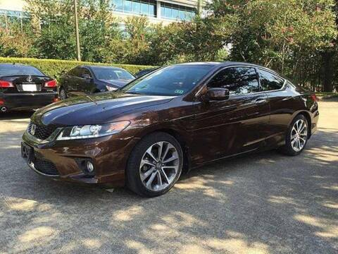2013 Honda Accord for sale at Mid-Town Auto in Houston TX
