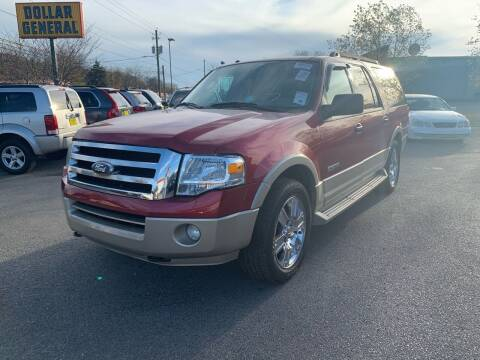2007 Ford Expedition EL for sale at Diana Rico LLC in Dalton GA