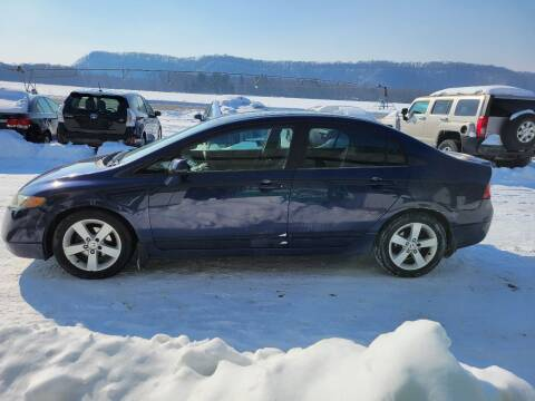 2006 Honda Civic for sale at SCENIC SALES LLC in Arena WI