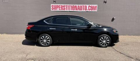2016 Nissan Sentra for sale at Superstition Auto in Mesa AZ