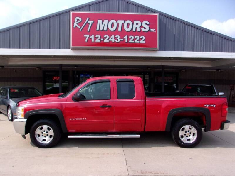 2013 Chevrolet Silverado 1500 for sale at RT Motors Inc in Atlantic IA