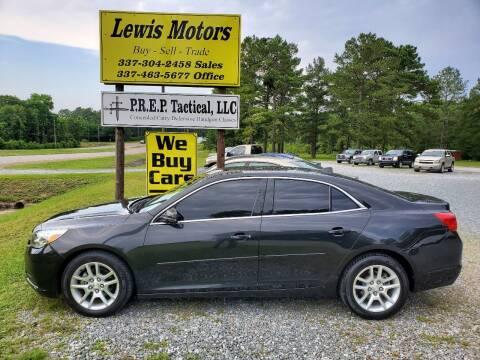 2014 Chevrolet Malibu for sale at Lewis Motors LLC in Deridder LA