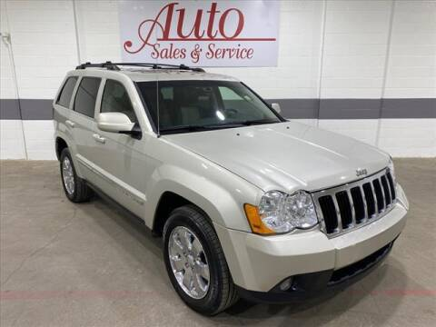 2008 Jeep Grand Cherokee for sale at Auto Sales & Service Wholesale in Indianapolis IN
