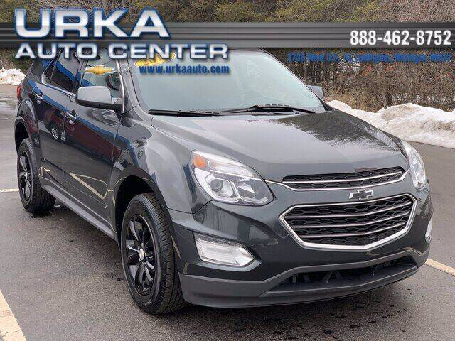 2017 Chevrolet Equinox for sale at Urka Auto Center in Ludington MI