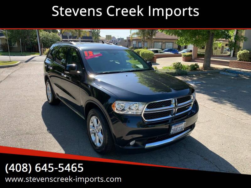 2013 Dodge Durango for sale at Stevens Creek Imports in San Jose CA