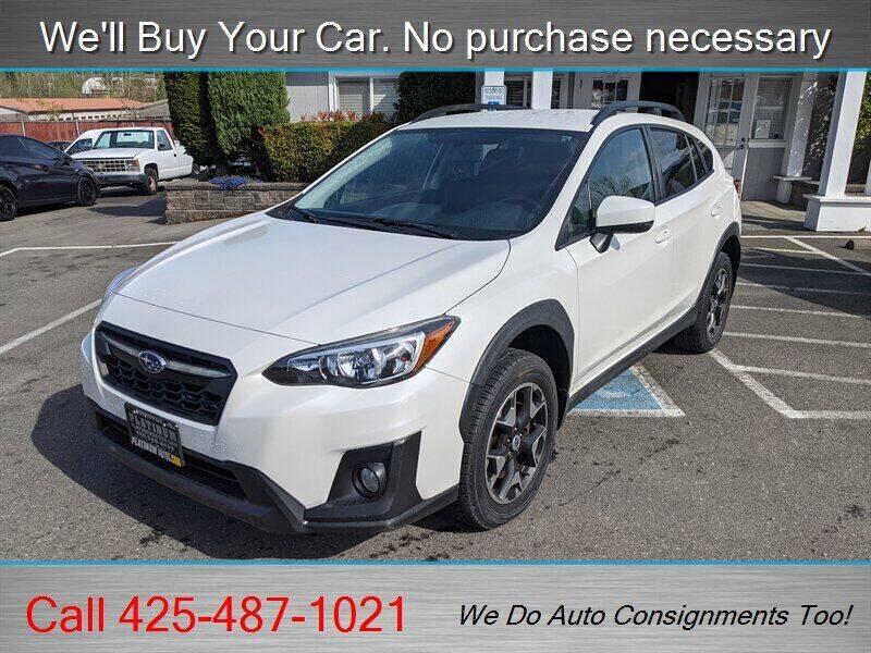 2018 Subaru Crosstrek for sale at Platinum Autos in Woodinville WA