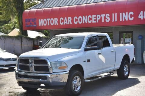 2010 Dodge Ram Pickup 2500 for sale at Motor Car Concepts II - Apopka Location in Apopka FL