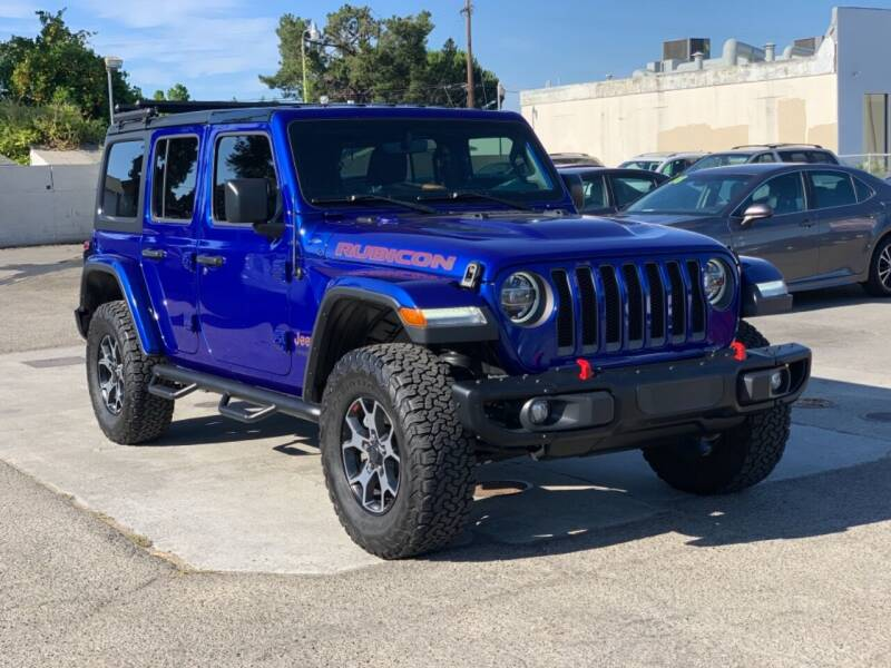 2019 Jeep Wrangler Unlimited for sale at H & K Auto Sales & Leasing in San Jose CA