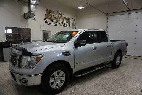 2017 Nissan Titan for sale at Elite Auto Sales in Ammon ID