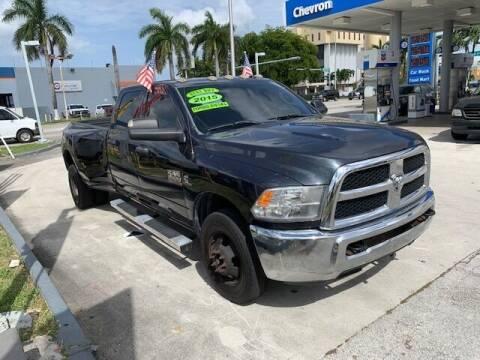 2015 RAM Ram Pickup 3500 for sale at Navarro Auto Motors in Hialeah FL