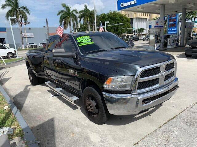 2015 RAM Ram Pickup 3500 for sale at Navarro Auto Motors in Hialeah FL